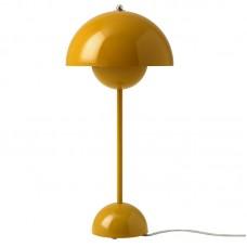 FlowerPot VP3 Tischleuchte Mustard