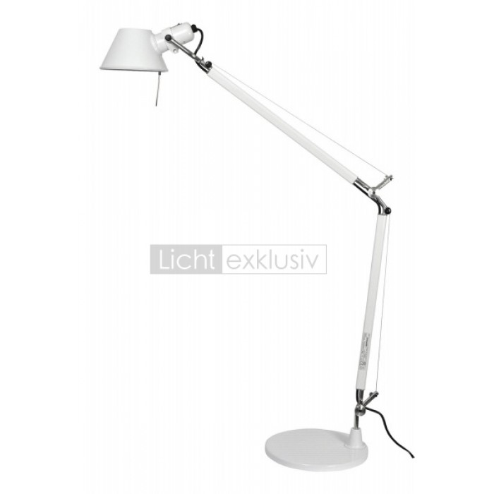 artemide tolomeo mini tischfu 20 cm designer lampen leuchten mit preisgarantie. Black Bedroom Furniture Sets. Home Design Ideas