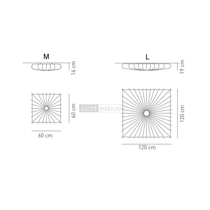 AxoLight Muse Q Wall / Ceiling Weiß - Designer Lampen ...