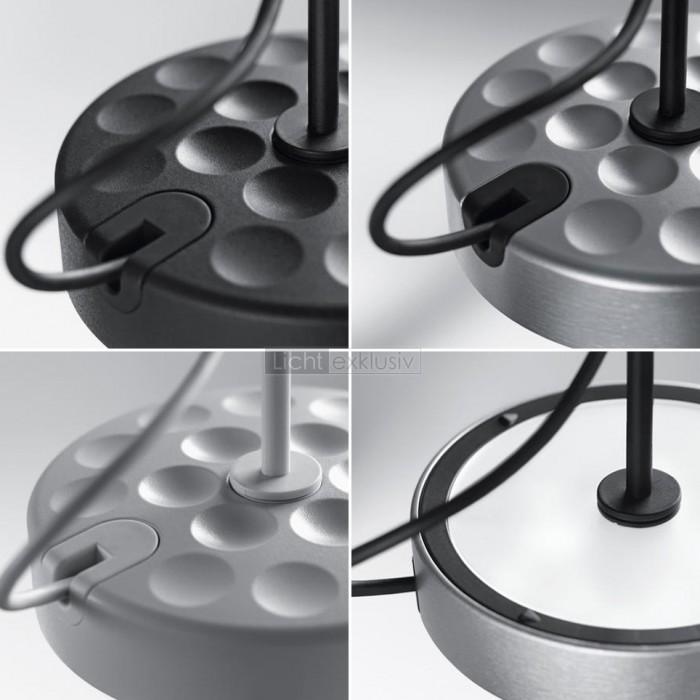 belux u turn pendelleuchte schwarz designer lampen leuchten mit preisgarantie. Black Bedroom Furniture Sets. Home Design Ideas