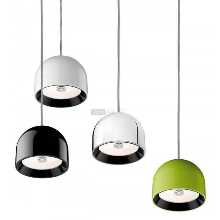 flos wan s pendelleuchte schwarz designer lampen leuchten mit preisgarantie. Black Bedroom Furniture Sets. Home Design Ideas