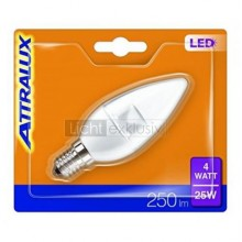 ATTRALUX by Philips E14 LED 4W Kerzenform