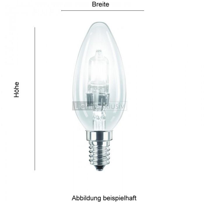 osram osram eco halogen classic p 42 watt e14 klar designer lampen leuchten mit preisgarantie. Black Bedroom Furniture Sets. Home Design Ideas