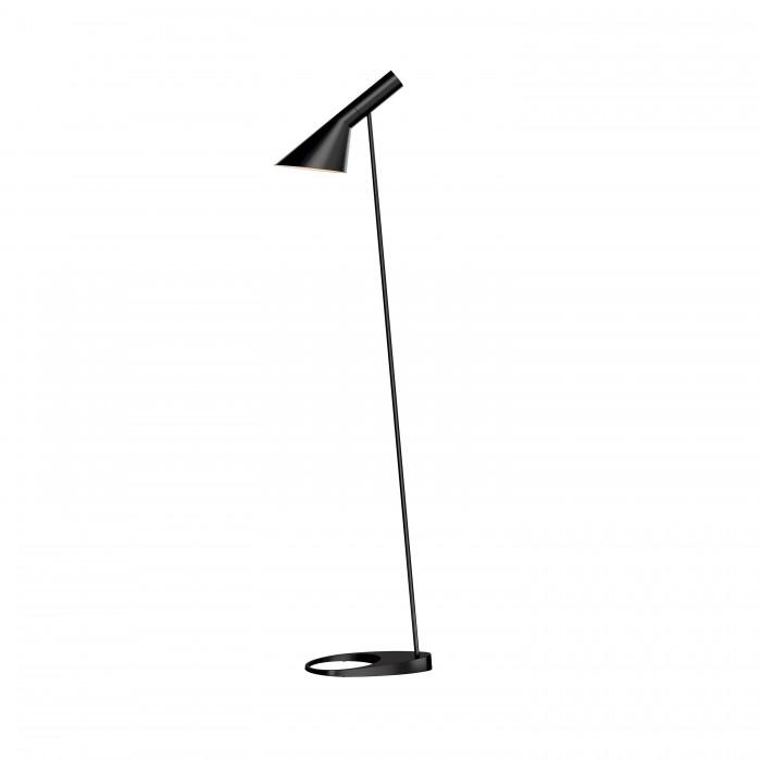 louis poulsen aj stehleuchte schwarz designer lampen leuchten mit preisgarantie. Black Bedroom Furniture Sets. Home Design Ideas