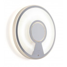 Lightdisc 32 Rahmen Weiß - Front Transparent
