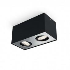 Bloq LED 2-Flammig Schwarz