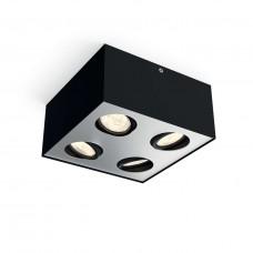 Bloq LED 4-Flammig Schwarz