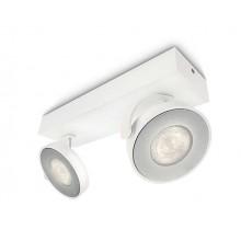 CLOCKWORK LED 2-Flammig Weiß