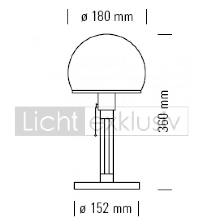 tecnolumen wagenfeld wg24 tischleuchte designer lampen. Black Bedroom Furniture Sets. Home Design Ideas