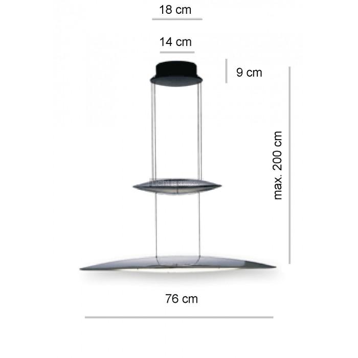 tobias grau tai lang 80 up alu satiniert designer lampen. Black Bedroom Furniture Sets. Home Design Ideas