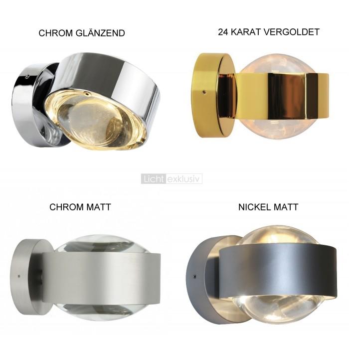 top light puk maxx wall plus chrom matt designer lampen. Black Bedroom Furniture Sets. Home Design Ideas