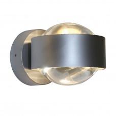 Puk Wall LED Nickelmatt
